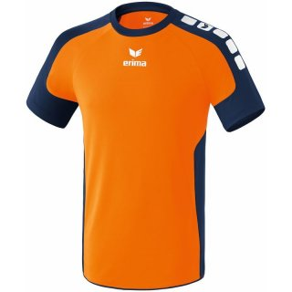neon orange/new navy Farbe