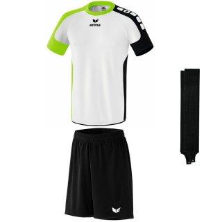 weiß/green - schwarz - schwarz Farbe