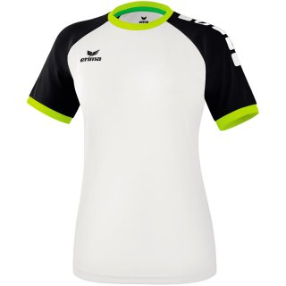 white/black/lime pop Farbe