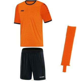 neonorange/orange - schwarz - schwarz Farbe