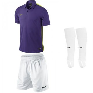 court purple/volt - white - white Farbe