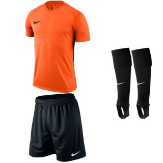 safety orange - black - black Farbe