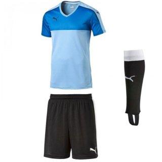 team pearl blue/black - black - black Farbe