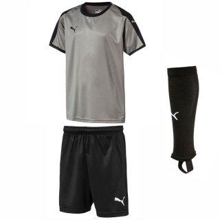 steel gray - puma black - puma black Farbe