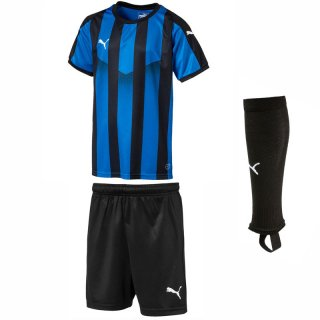 electric blue - puma black - puma black Farbe