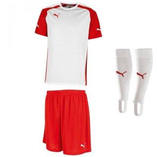 12 white - red - white Farbe