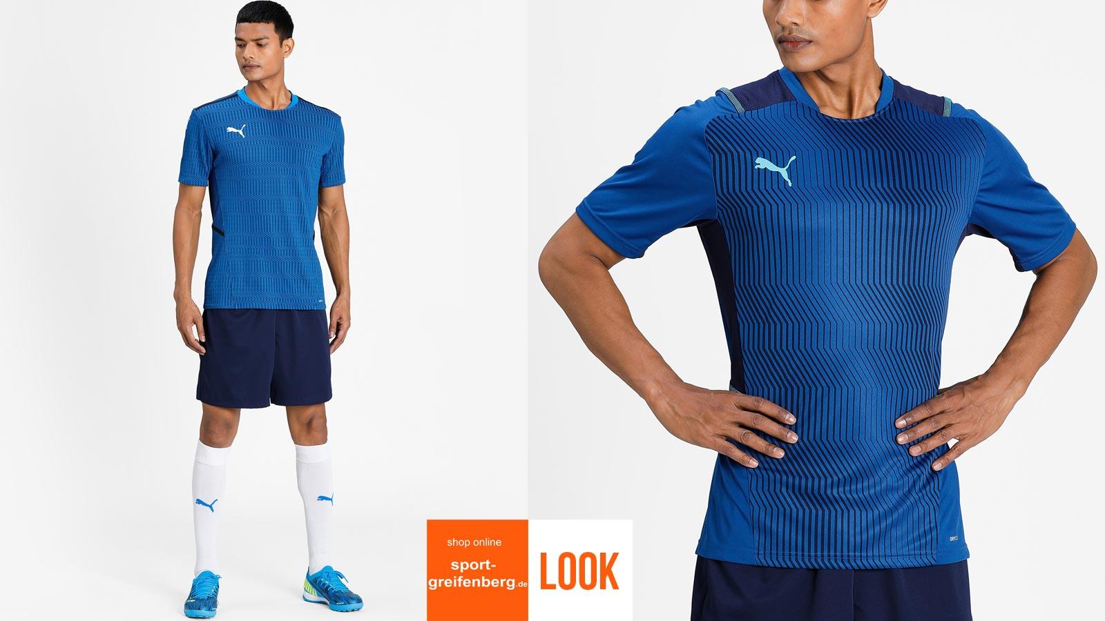 Das Puma Training Outfit teamCup mit Shirt und Short