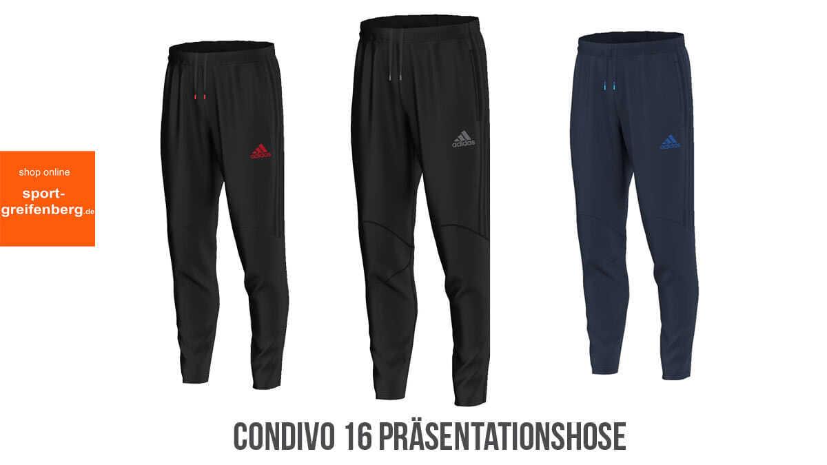 Adidas Condivo 16 PräsentationshosePolyesterhose