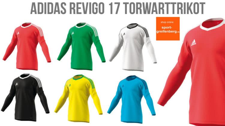 Adidas Revigo 17 Bundesliga Torwart Trikot