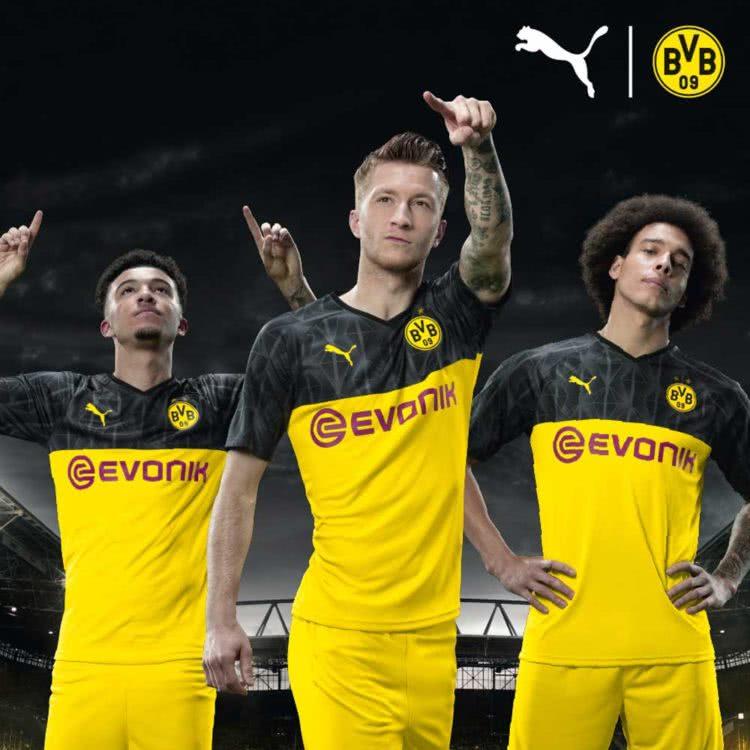 Das Puma BVB Cup Trikot als Turnier Trikot für DFB Pokal und UCL