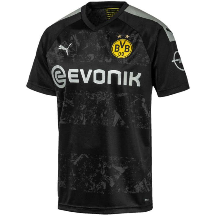 Das Borussia Dortmund Away Trikot 2019 2020 in schwarz