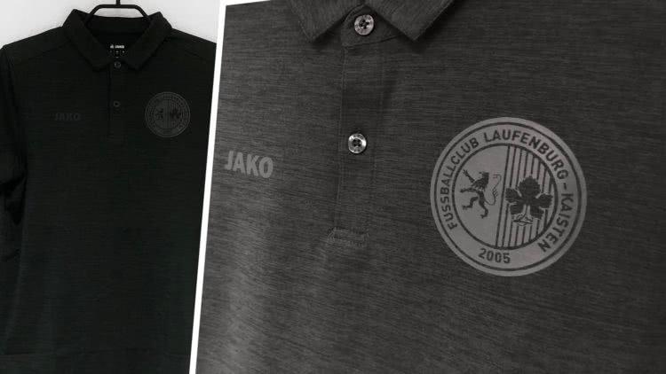 Club Poloshirt mit Vereinslogo Druck