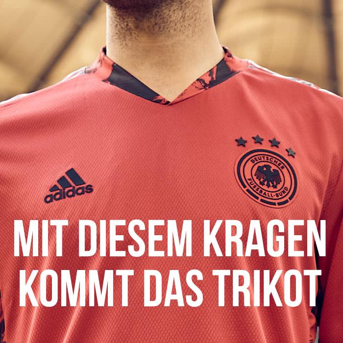 So ist der Kragen vom adidas DFB Trikot 2020/2021