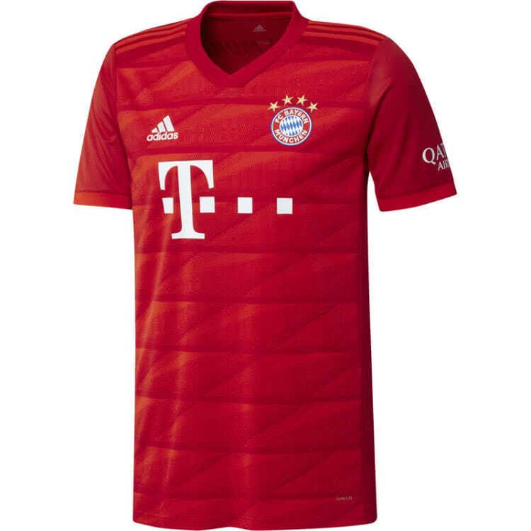 Das offizielle FC Bayern Trikot 2019/2020 Heim