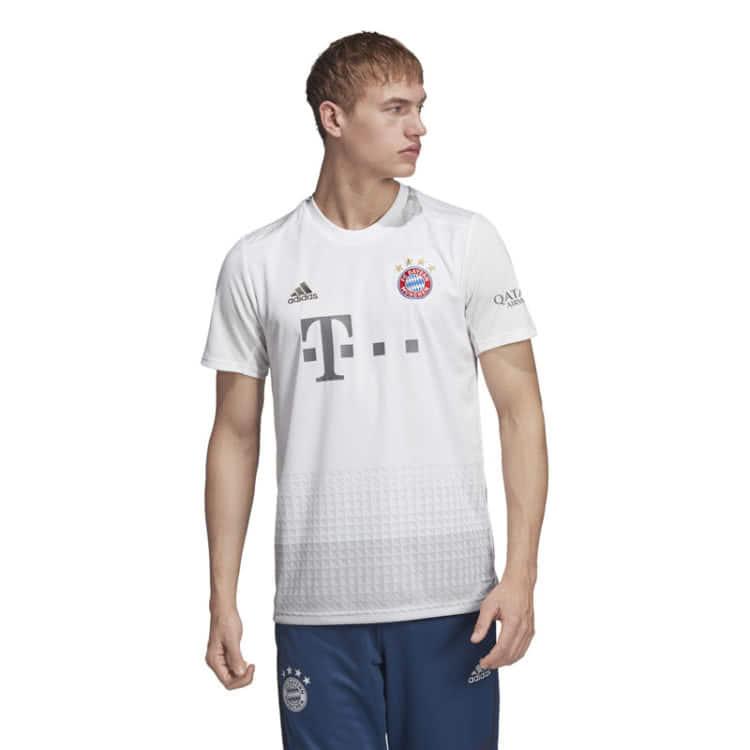 FC Bayern Trikot Away 2019 2020 // Jersey weiß