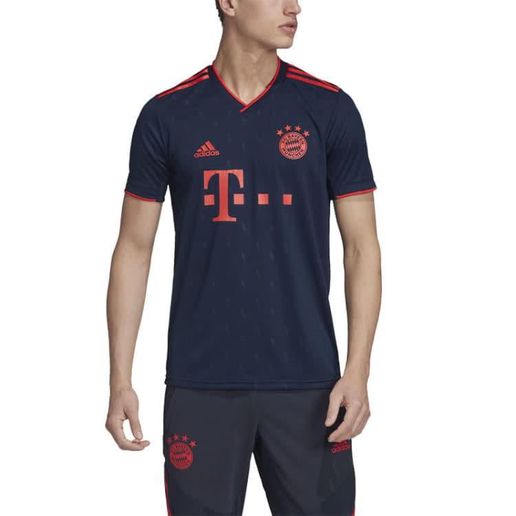 Die neue Farbe für das FC Bayern Champions League Trikot der Saison 2019/2020
