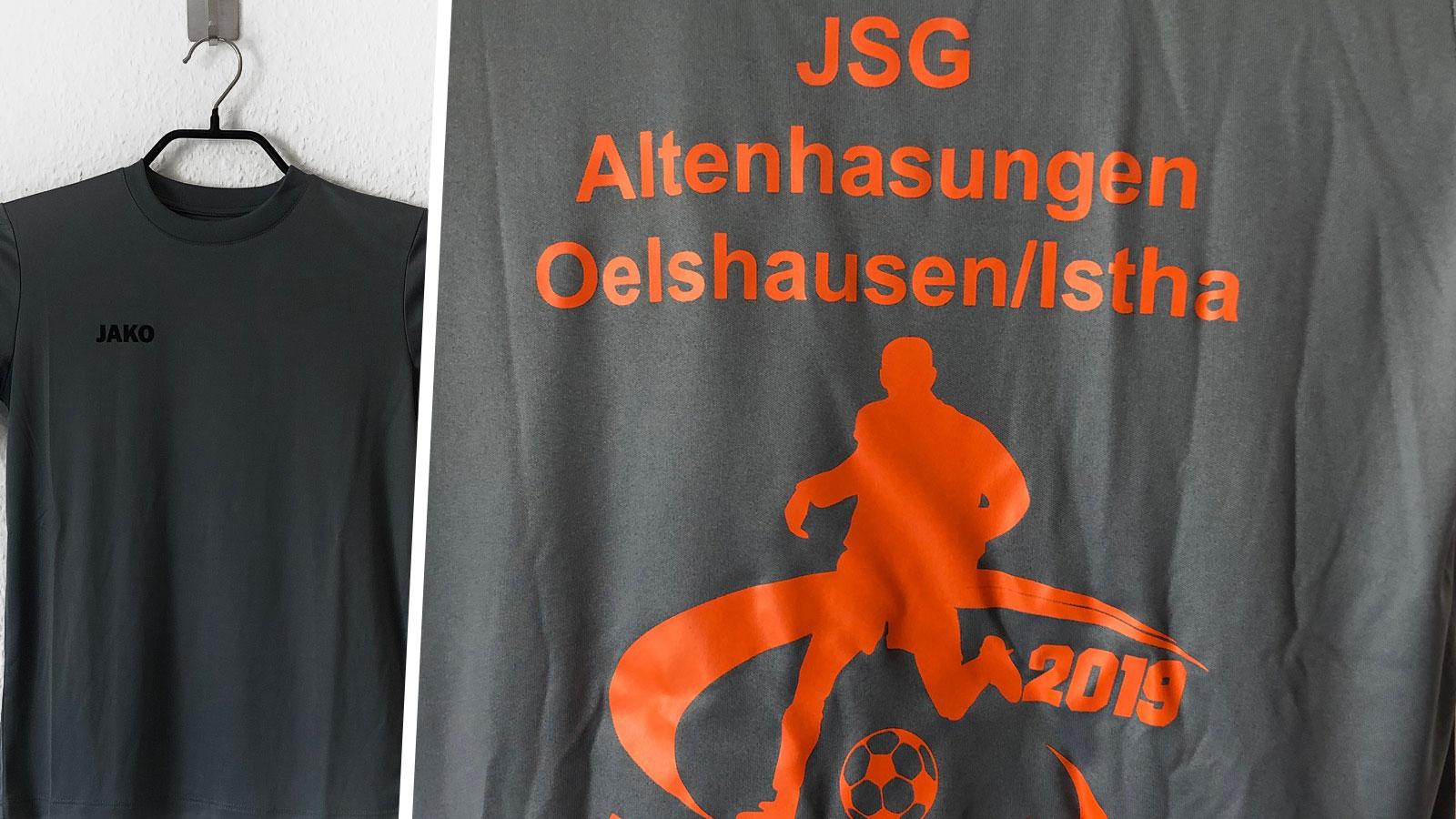 Das Fußballcamp Shirt mit Druck