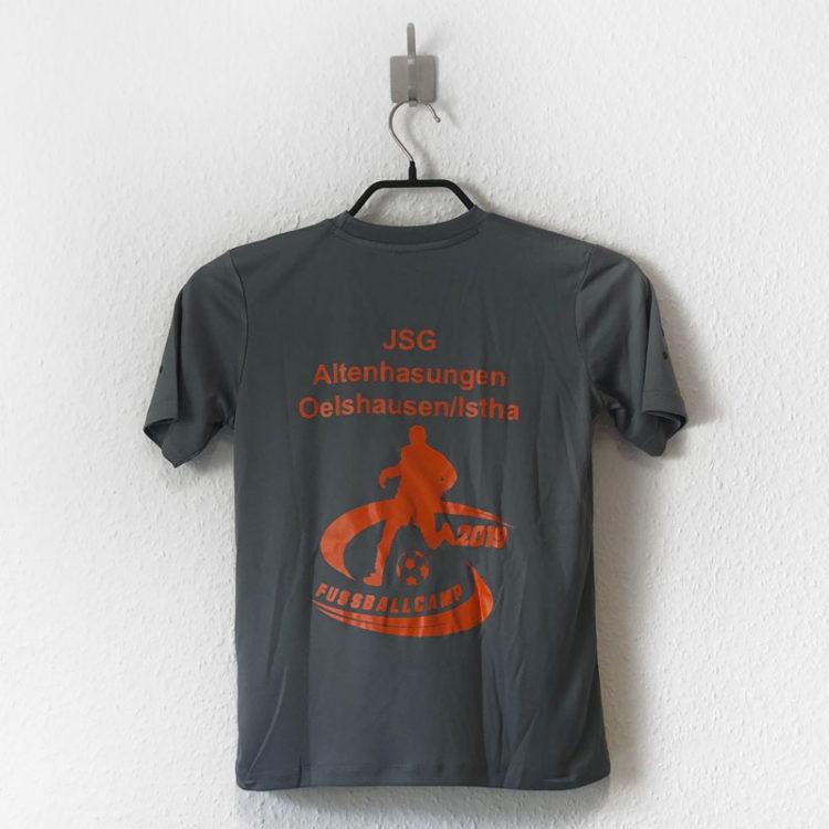 Das Fußballcamp T-Shirt mit Logo