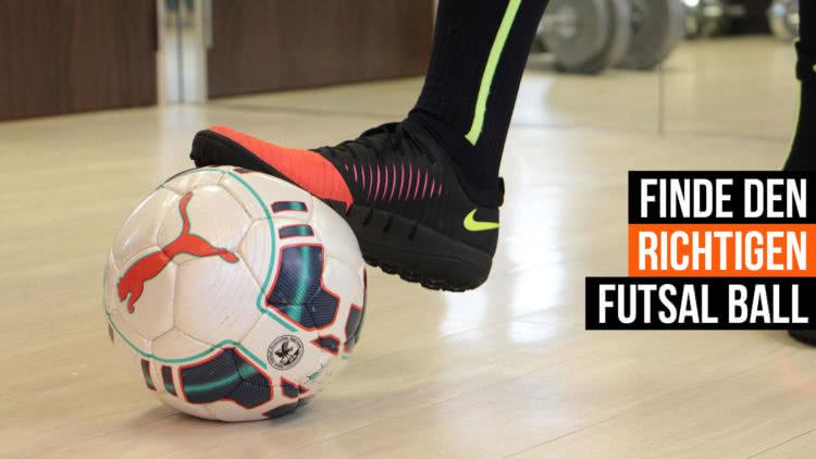 Die Futsal Fußbälle Größentabelle für Kinder und Erwachsene