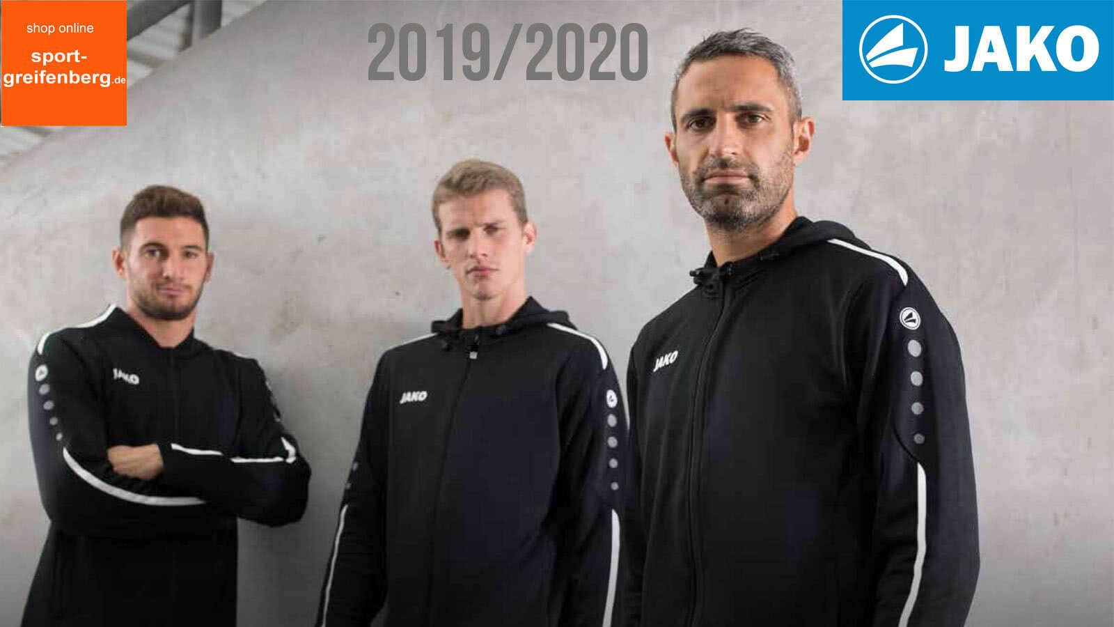 Die Jako Sportbekleidung für 2019 2020 mit der Jako Striker 2.0 Sportbekleidung