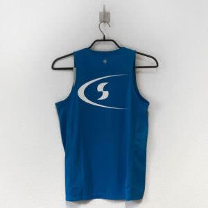Das Leichtathletik Tank Top und Singlet mit dem Logo Druck auf dem Rücken