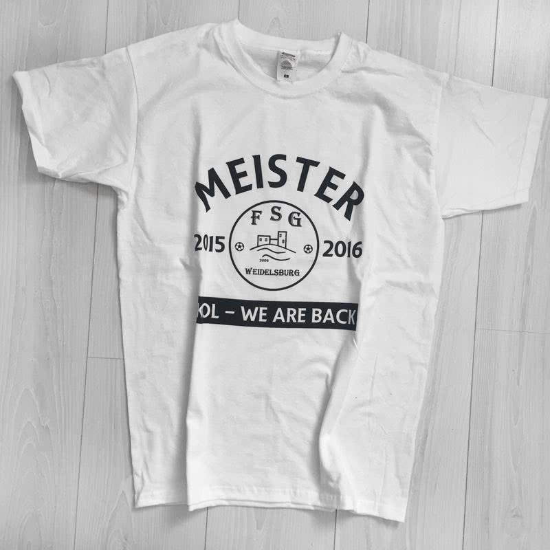 Meister T-Shirts mit eigenem Druck