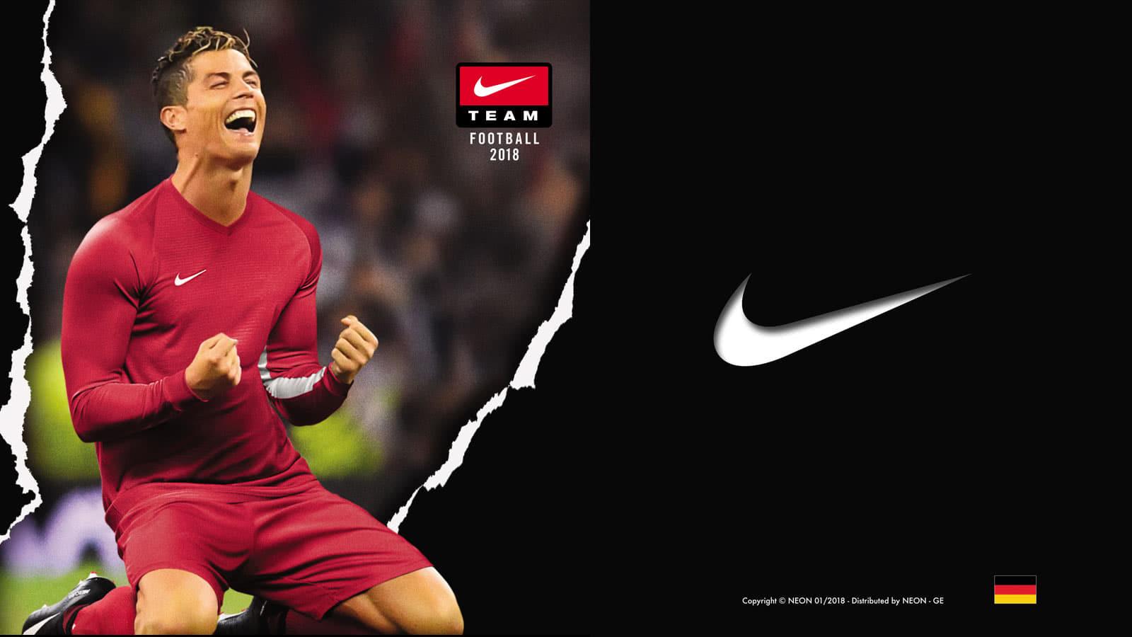 Nike Laufzeiten für Trikots und Trainingsanzüge bis 2020
