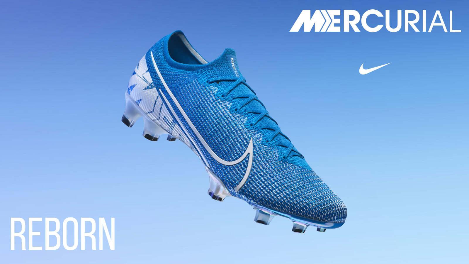 Die Nike Mercurial Vapor 13 und Superfly 7 Fußballschuhe