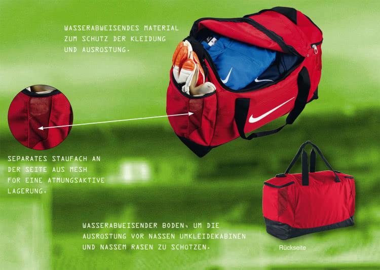 Nike Sporttasche und Teambag