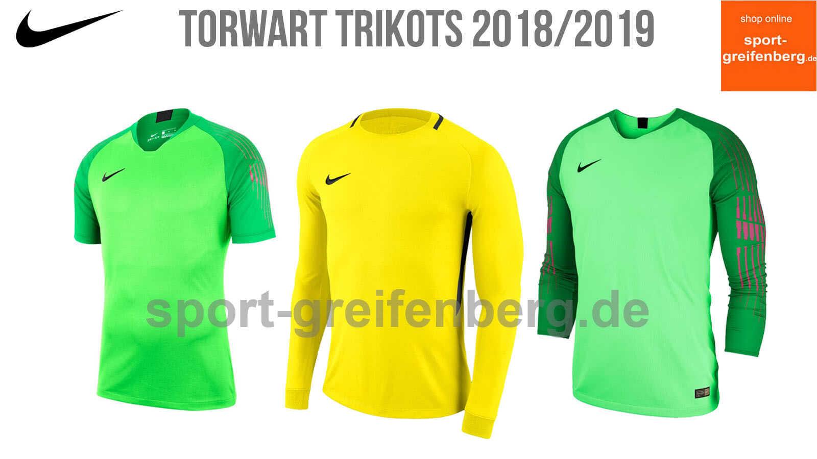 Nike Torwart Trikots 2018/2019 der WM und der Saison