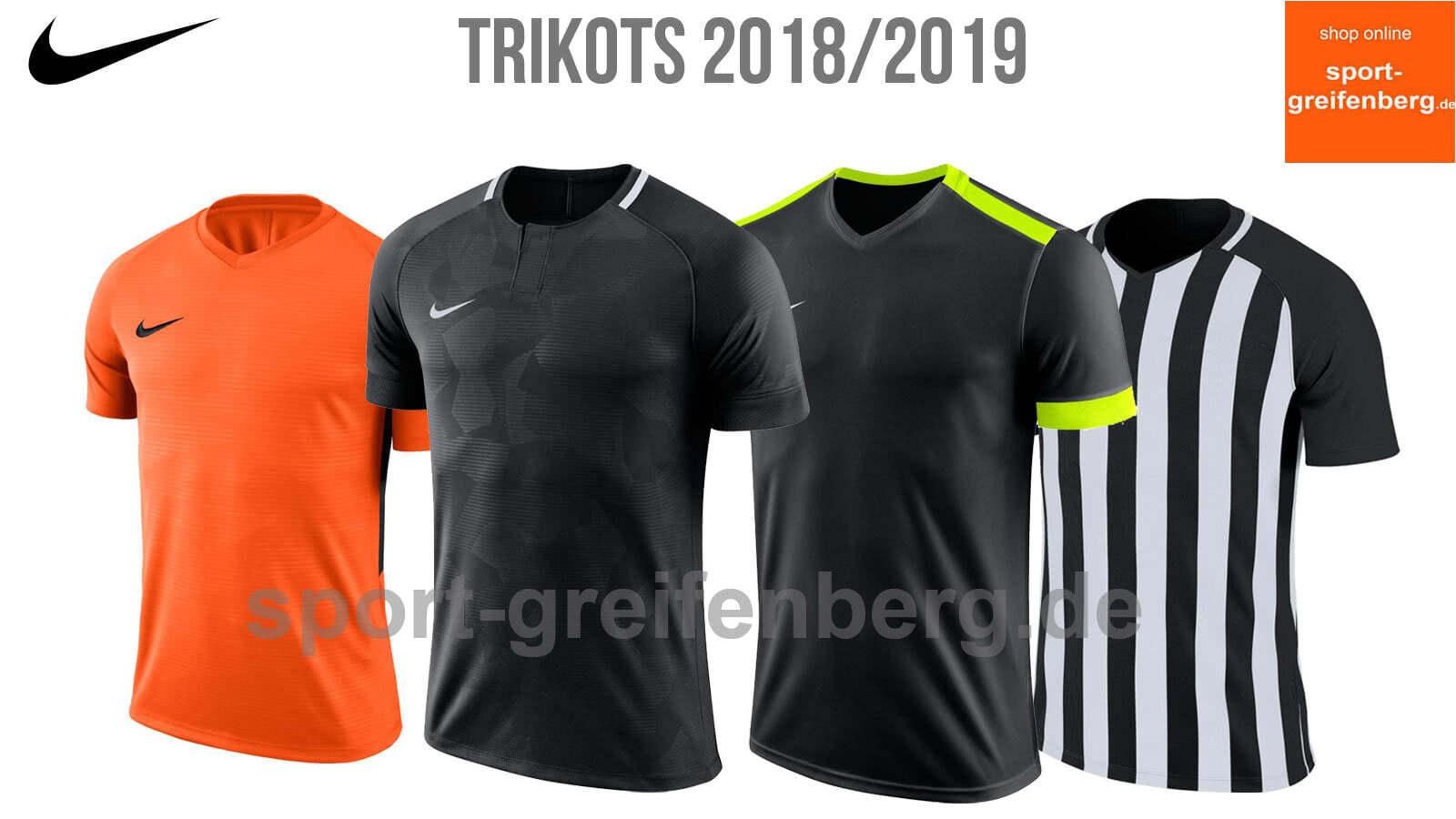 Nike Trikots 2018/2019 (alle neue Trikots / Jerseys) - Katalog