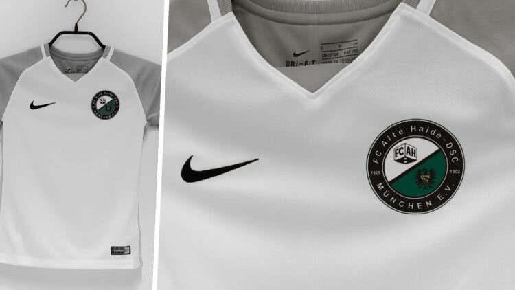 Nike Trikots mit Vereinslogo Druck der FC alte Haide