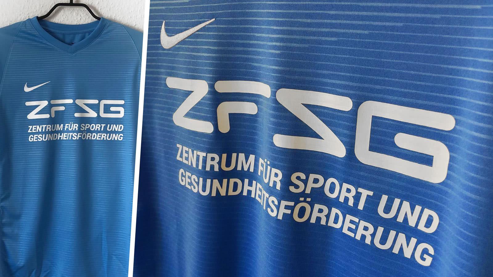 Nike Trikots mit Nummer TU Chemnitz