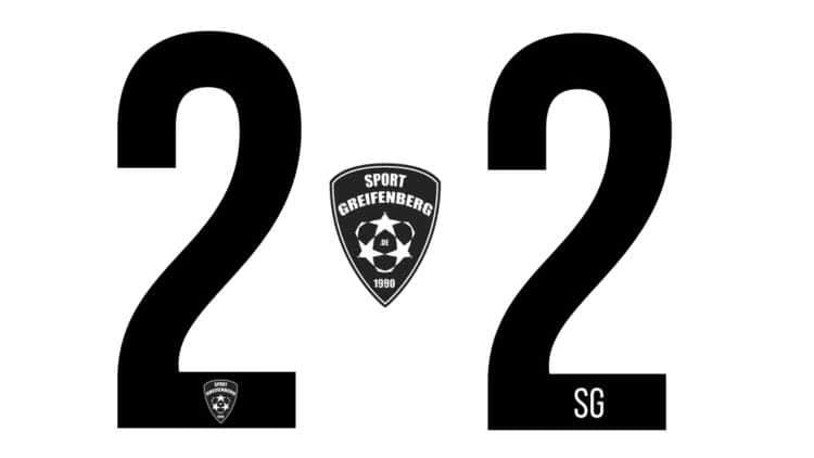 Die Rückennummern mit Vereinslogo oder Vereinswappen
