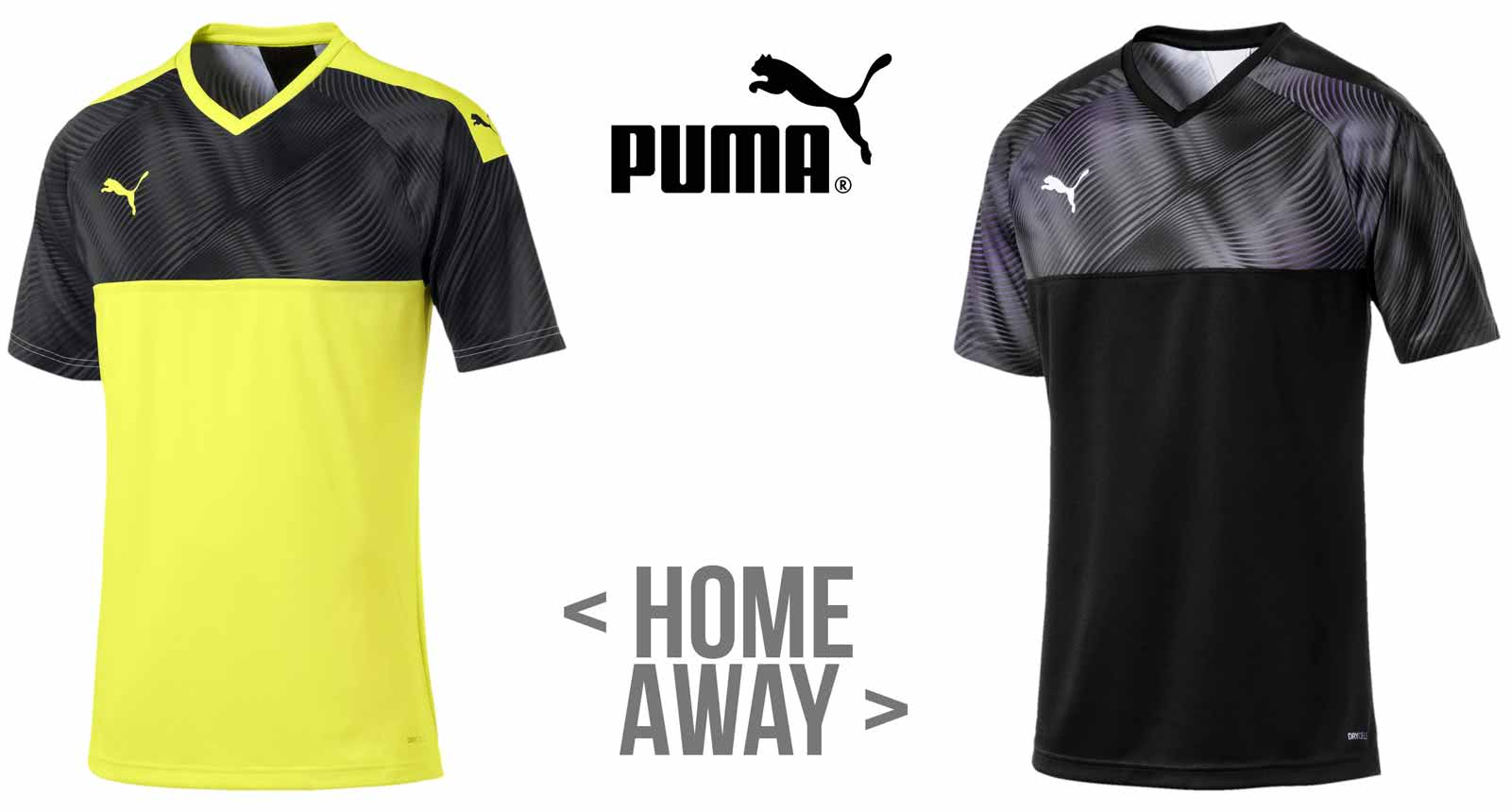 Puma Dortmund Trikot 2019/2020 Home und Away mit dem Cup Jersey