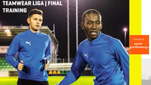 die Puma Final und Puma Liga Sportbekleidung aus dem Teamsport Katalog