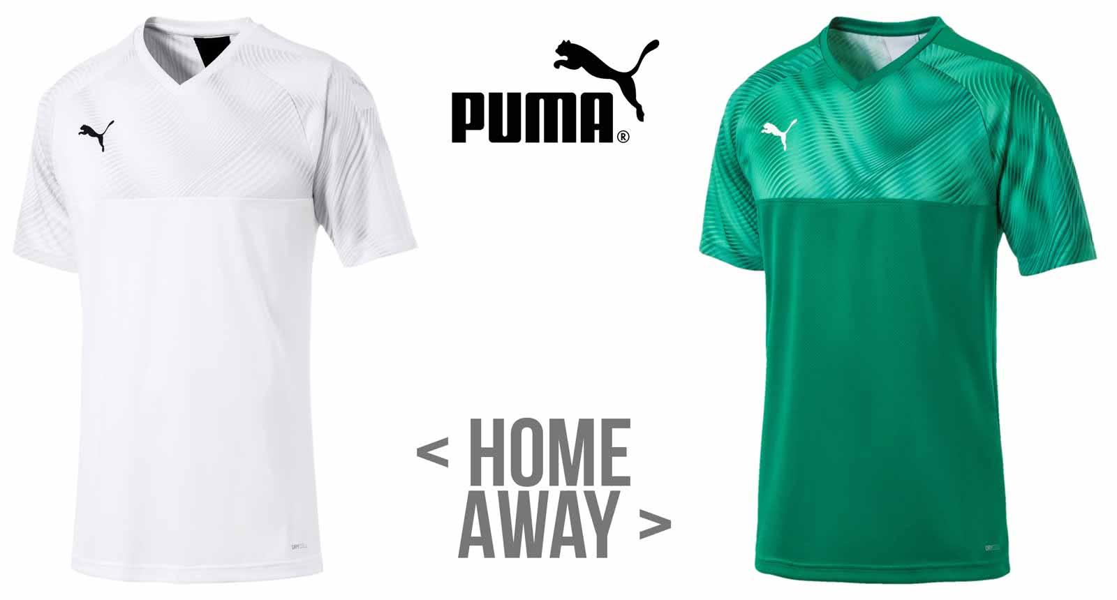 Das Puma Gladbach Trikot 2019/2020 Home und Away auf Grundlage des Cup Jersey