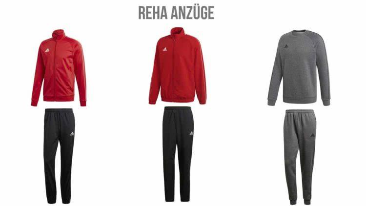 Die Reha Trainingsanzüge und Sportanzüge