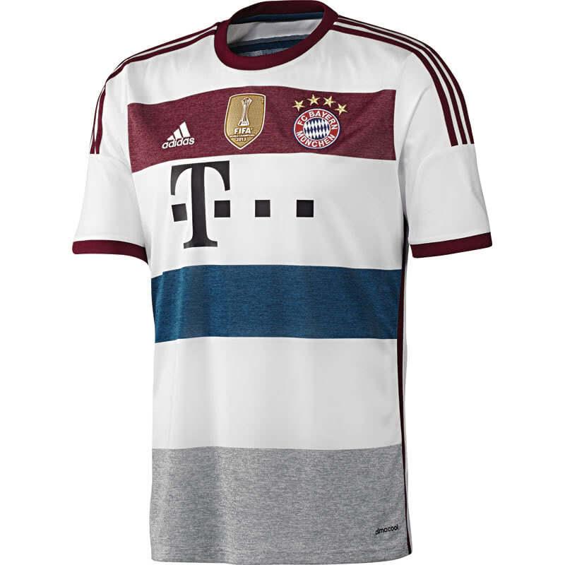 FC Bayern München Trikot von Adidas im Away Look