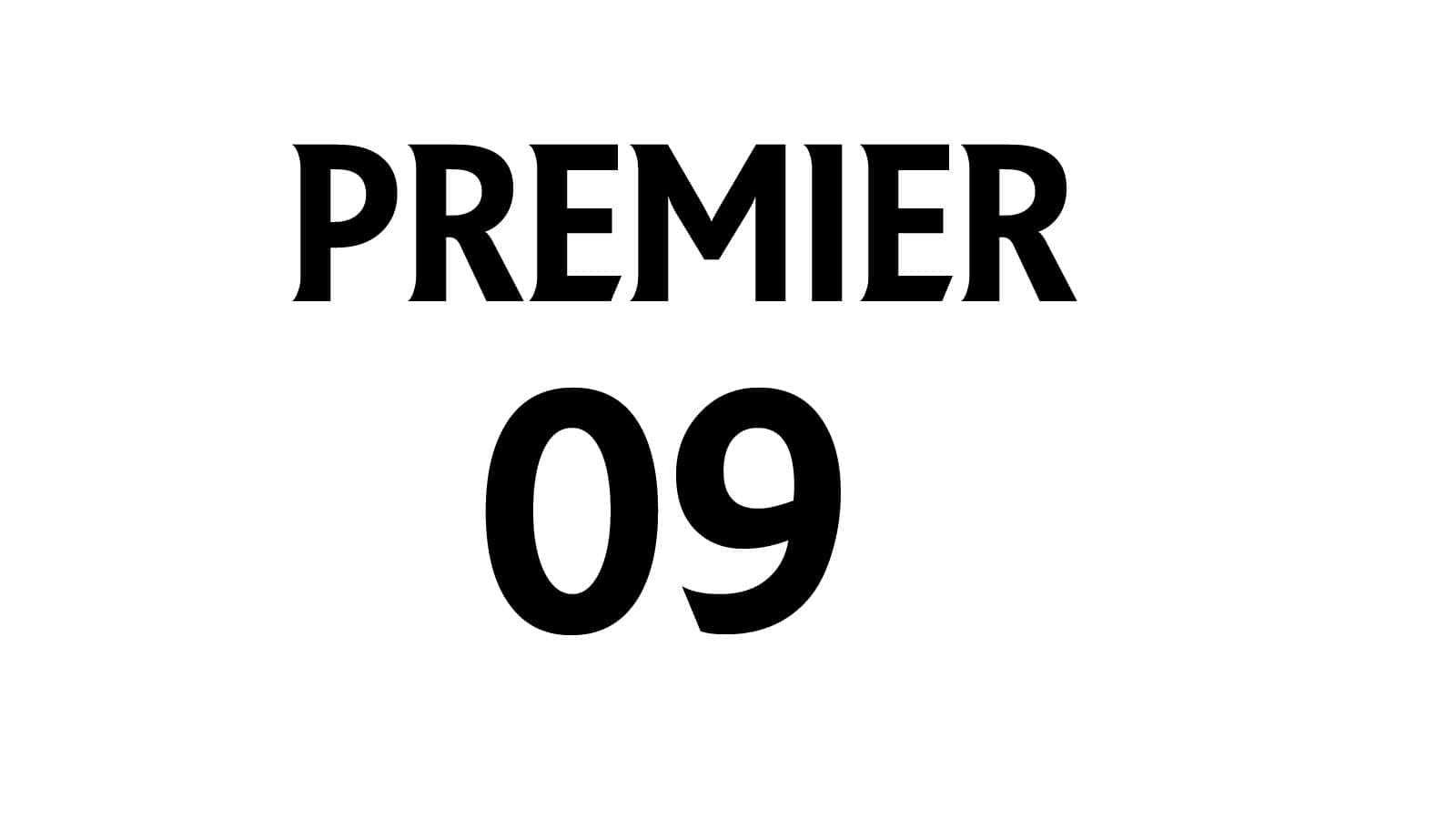 Die Premier Schriftart zum Druck