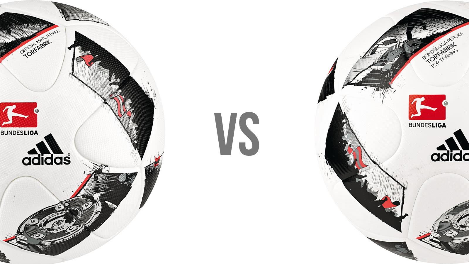 Die Unterschiede zwischen einem Spielball und einem Trainingsball (Fussball)