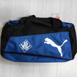 Sporttaschen mit Aufdruck des Vereinslogos (VfL Gera)