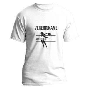 Das Meister T-Shirt für Volleyball