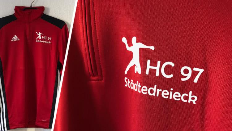 das adidas Training Top für den Handball vom HC 97 Städtedreieck