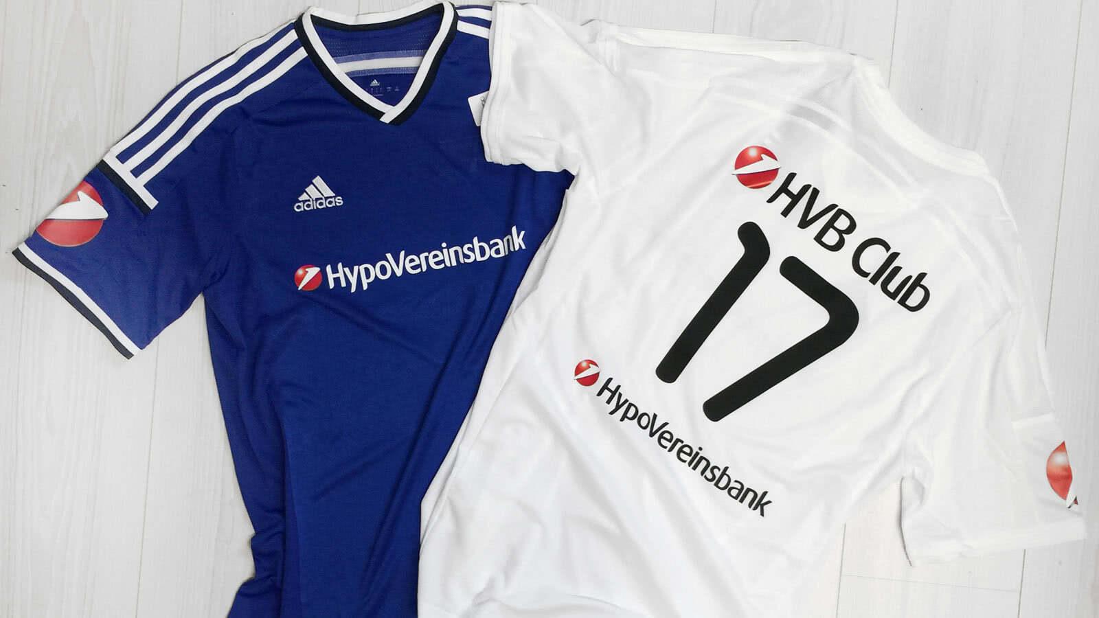 classic fit 35c31 36a4f Firmen Team Trikots mit Druck (Hypovereinsbank ...