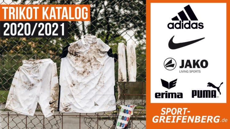 Der Trikot Katalog von adidas, nike ,puma, jako und erima