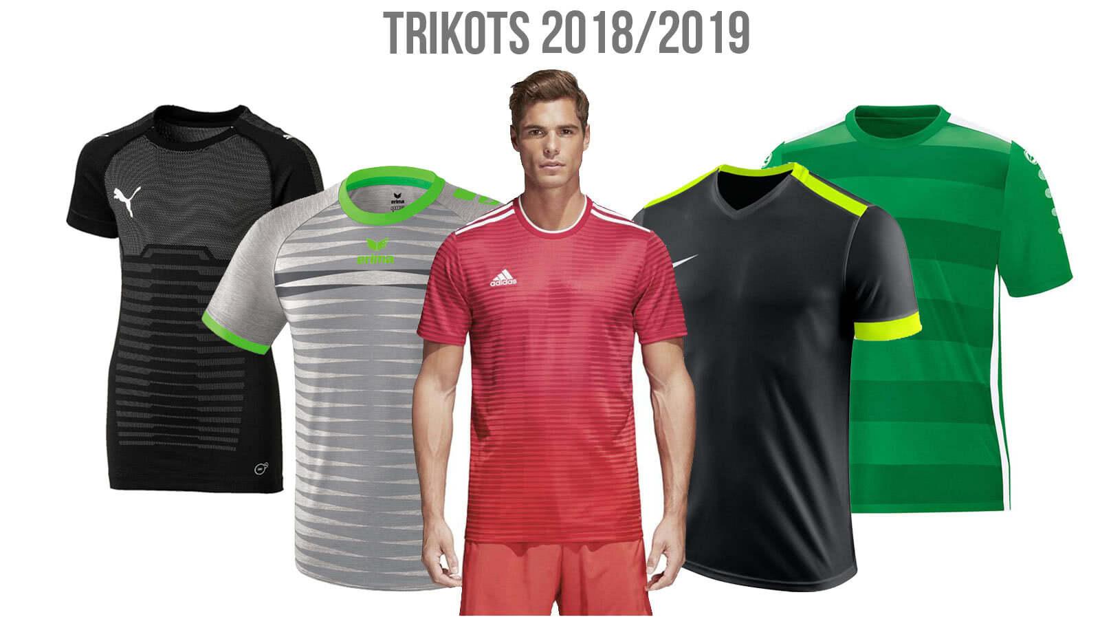 alle Trikots 2018/2019 von adidas, nike sowie puma und co