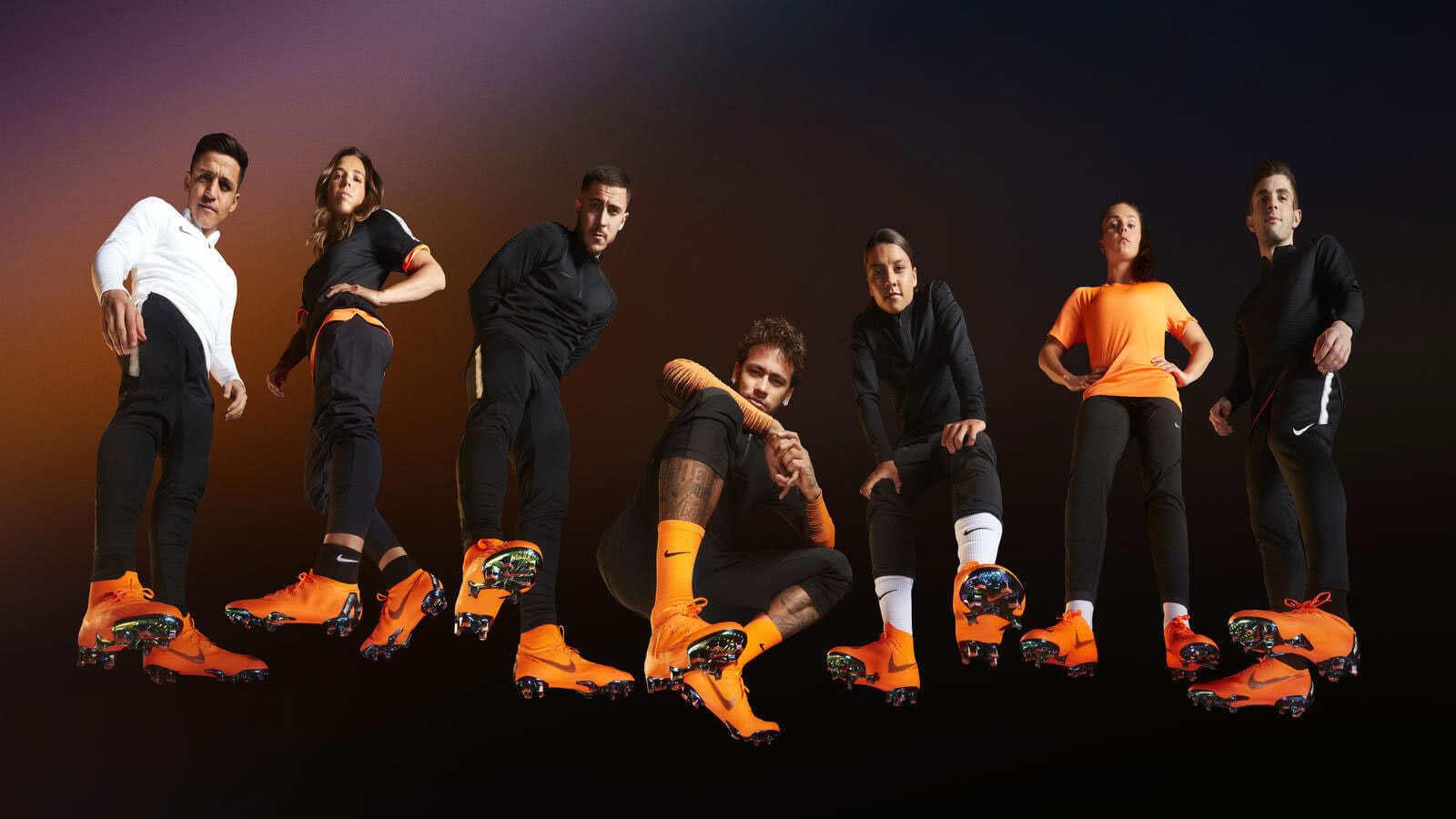 Wer spielt Nike Mercurial Superfly VI Elite und wer Vapor XII?