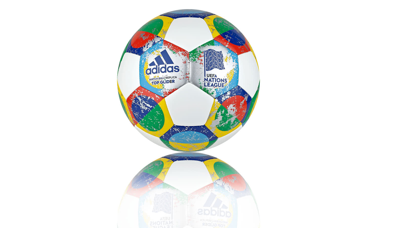 Der adidas Nations League Spiel Ball OMB Match Ball