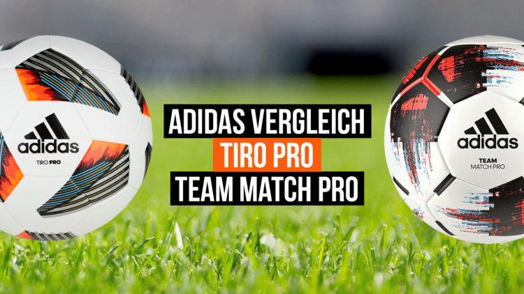 Der adidas Tiro Pro und adidas Tiro team Match Pro im Vergleich